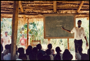 School Near Queimane 1990